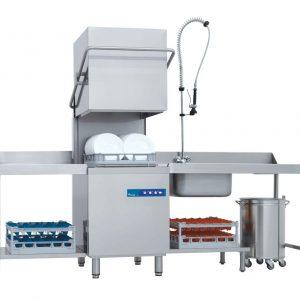 Eurowash EU-EW393E Undercounter Pass-Through Commercial Dishwasher